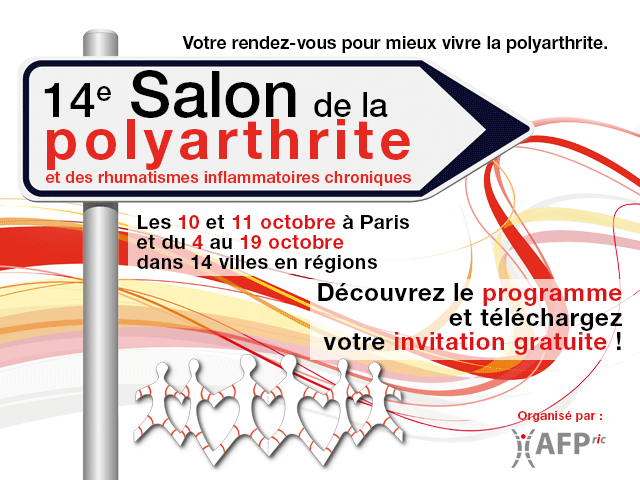 Salon de la polyarthrite chambre syndicale sophrologie for Salon polyarthrite