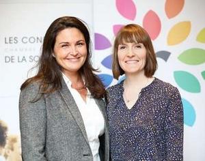Catherine Aliotta et Emilie Bissette les conférences de la sophrologie