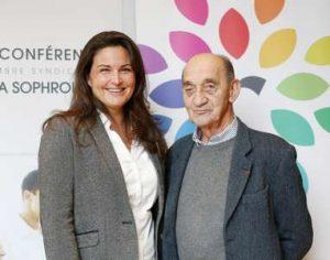 Catherine Aliotta et le professeur Jean-Didier Rain