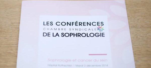 programme conférences sophrologie