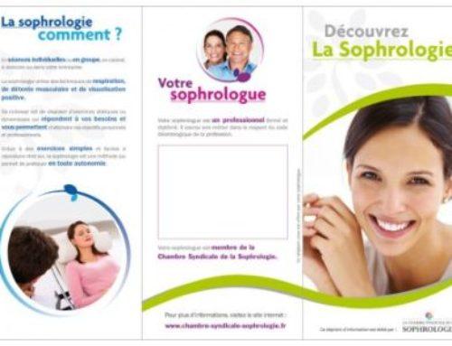 Communication du sophrologue : nouveau dépliant en ligne